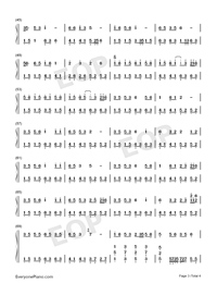How Many Good Sisters Do You Have-Numbered-Musical-Notation-Preview-3