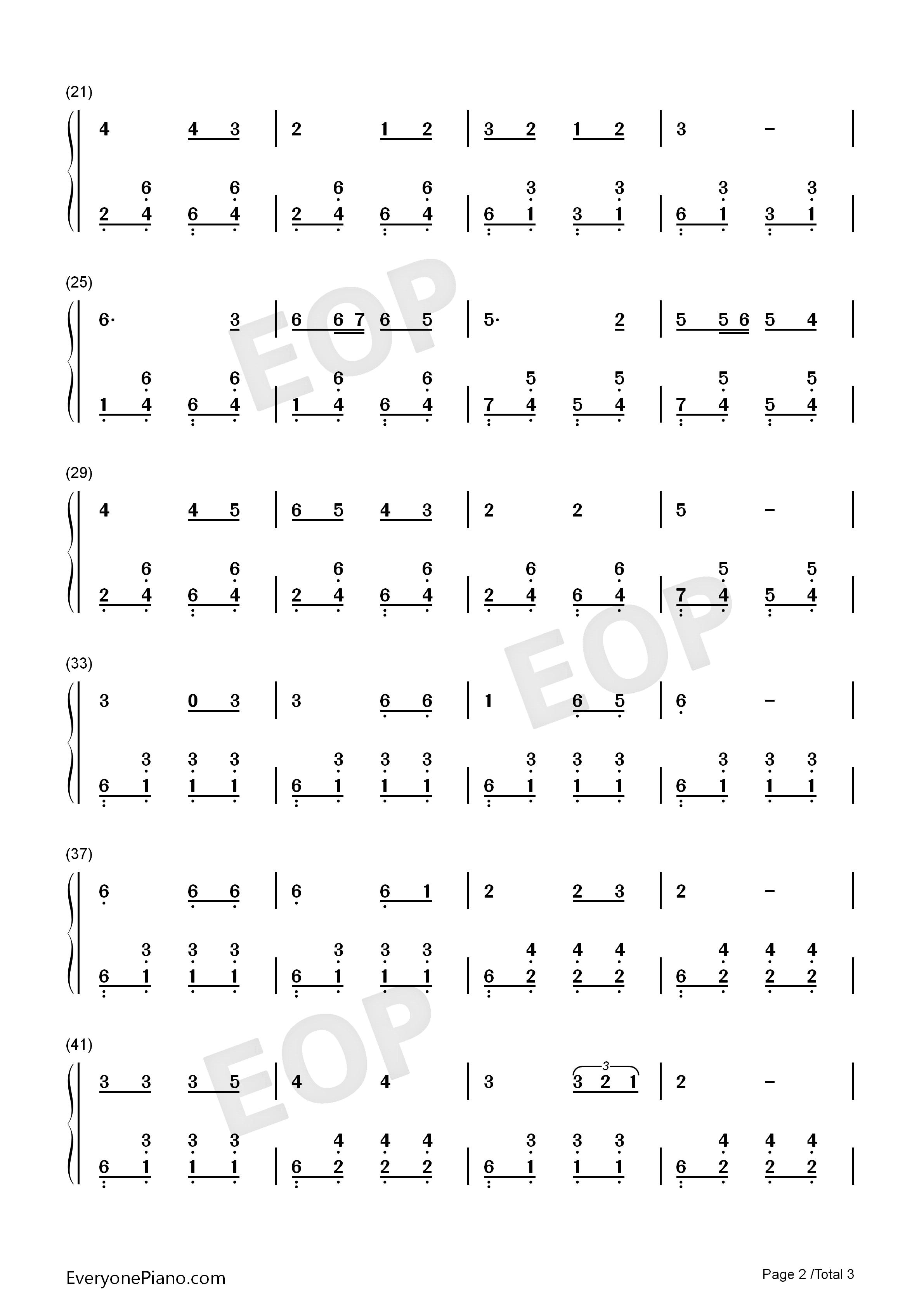 country roads free sheet music pdf