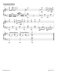 LA VIE EN ROSE - Richard Clayderman Stave Preview 4