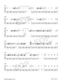 Give Up-Numbered-Musical-Notation-Preview-2