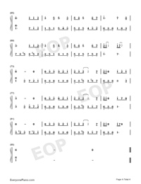 Lolita Numbered Musical Notation Preview 4