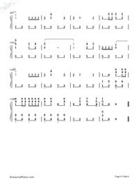 闘牛士の歌-スペイン闘牛舞曲両手略譜プレビュー6