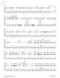 Romeo and Cinderella-Numbered-Musical-Notation-Preview-3