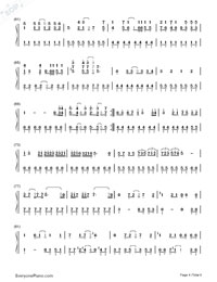 Romeo and Cinderella-Numbered-Musical-Notation-Preview-4