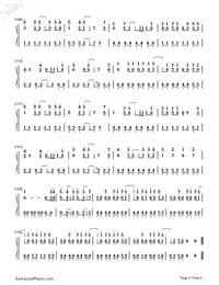 Romeo and Cinderella-Numbered-Musical-Notation-Preview-6