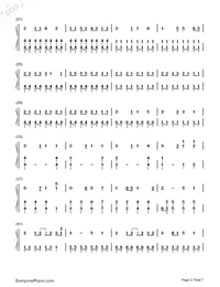 Ai Kotoba-Love Words-Numbered-Musical-Notation-Preview-2