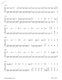 Ai Kotoba-Love Words-Numbered-Musical-Notation-Preview-4