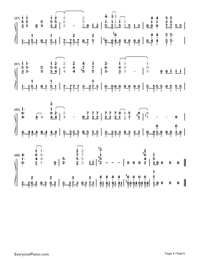 We are!-One Piece OP1-Numbered-Musical-Notation-Preview-4
