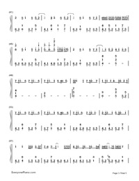 Glow-Hatsune Miku-Numbered-Musical-Notation-Preview-3