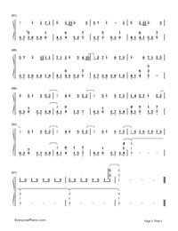 Glow-Hatsune Miku-Numbered-Musical-Notation-Preview-5