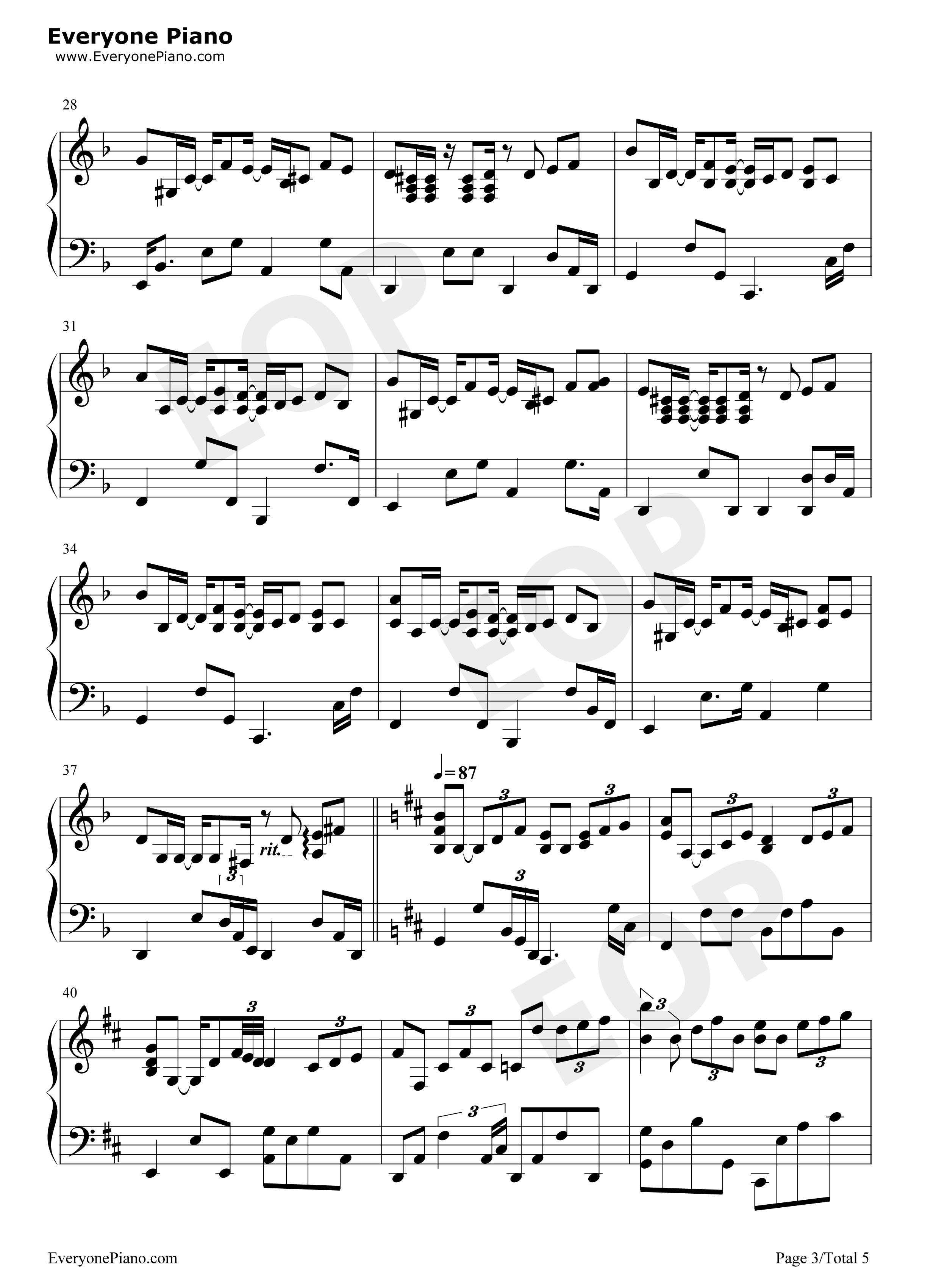 незнакомец ноты таинственный для фортепиано