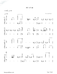 All of Me-Jon Schmidt-Numbered-Musical-Notation-Preview-1