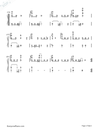 Almost is Never Enough-Ariana Grande and Nathan Skyes-Numbered-Musical-Notation-Preview-2