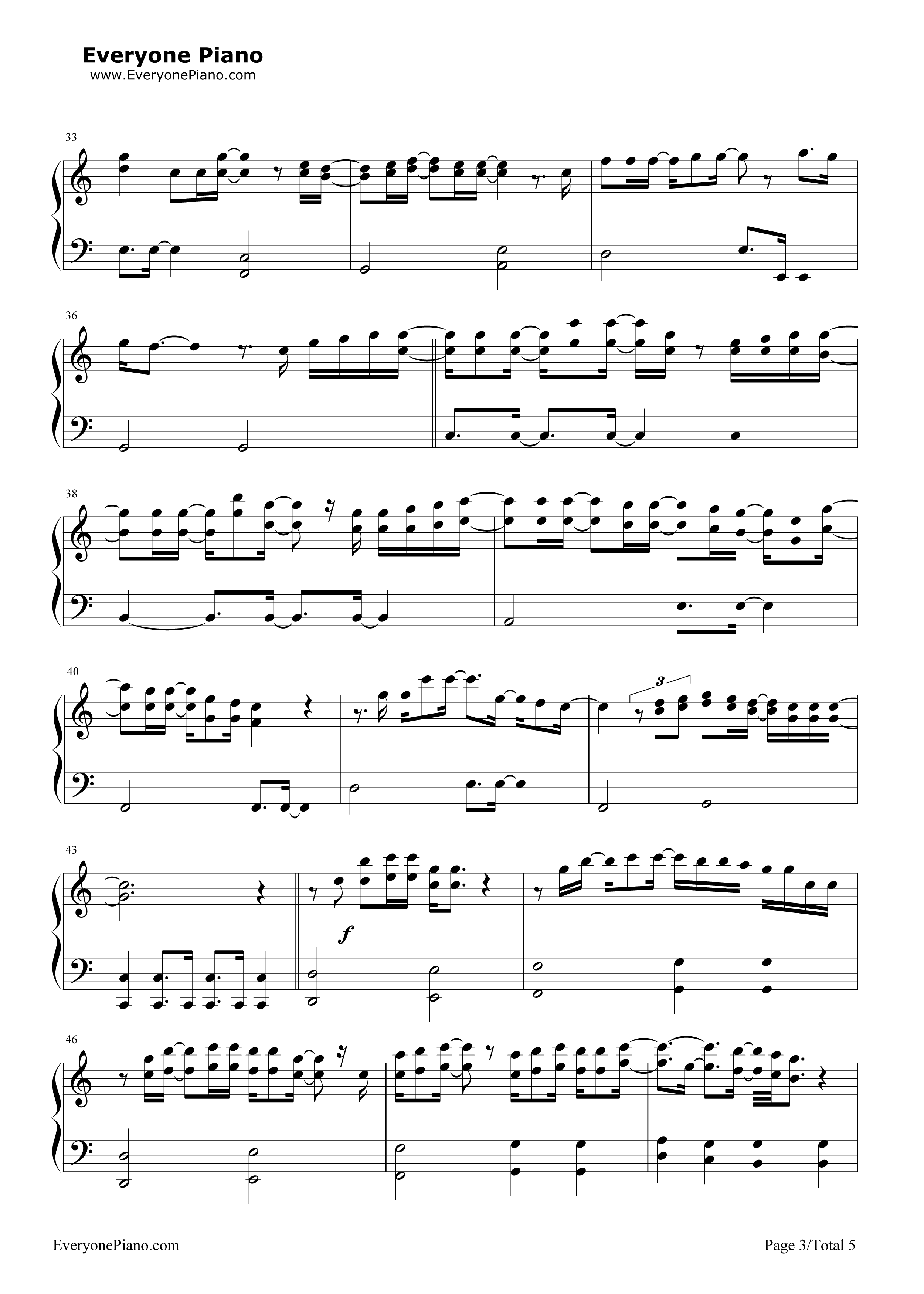 Blessings laura story stave preview 3 free piano sheet music listen now print sheet blessings laura story stave preview 3 hexwebz Gallery