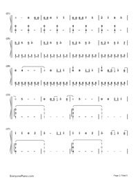 We Can't Stop- Miley Cyrus-Numbered-Musical-Notation-Preview-2