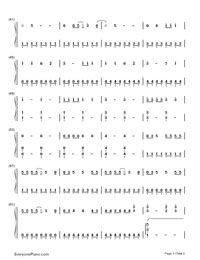 We Can't Stop- Miley Cyrus-Numbered-Musical-Notation-Preview-3