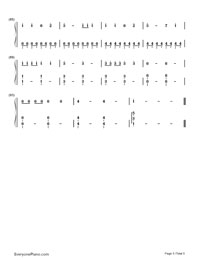 We Can't Stop- Miley Cyrus-Numbered-Musical-Notation-Preview-5