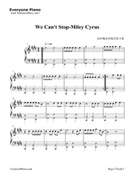 We Can't Stop- Miley Cyrus Stave Preview 1