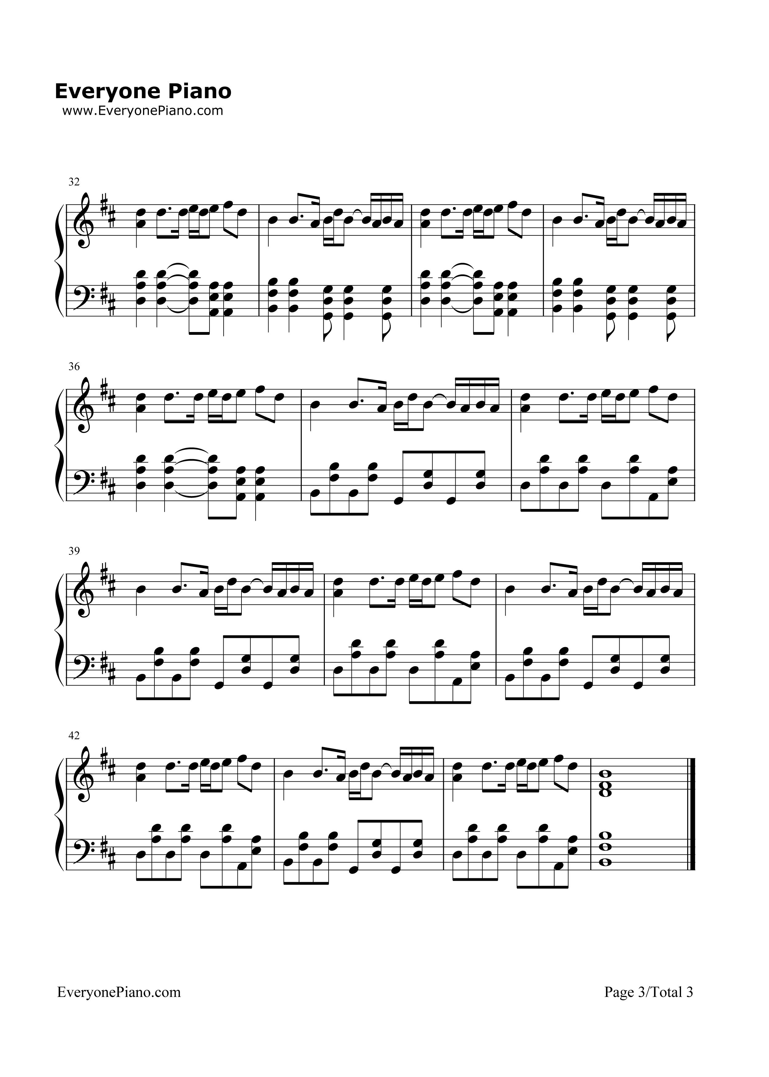 Wake me up avicii stave preview 3 free piano sheet music piano listen now print sheet wake me up avicii stave preview 3 hexwebz Gallery
