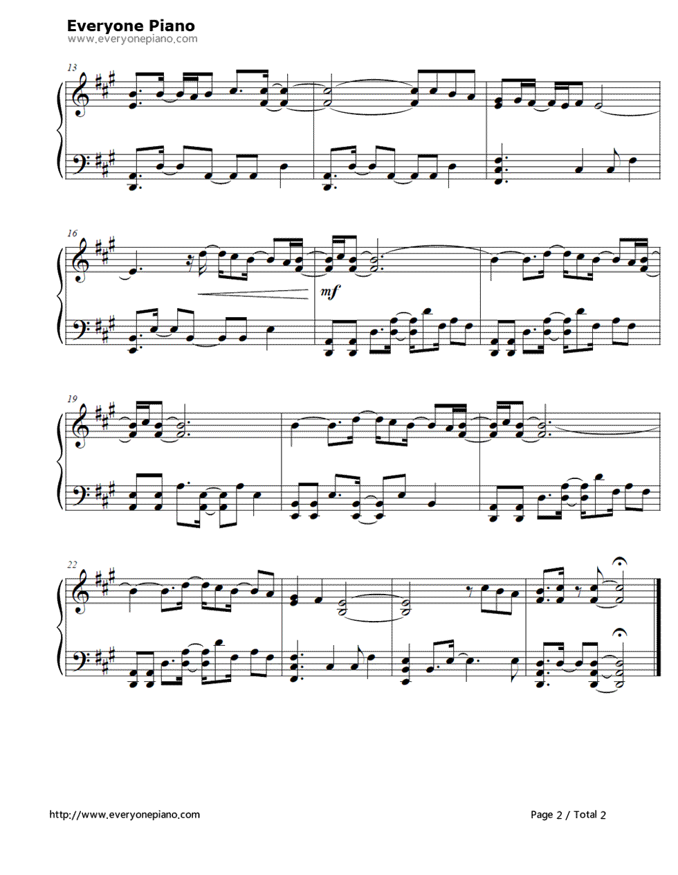 to have and to hold sheet music pdf