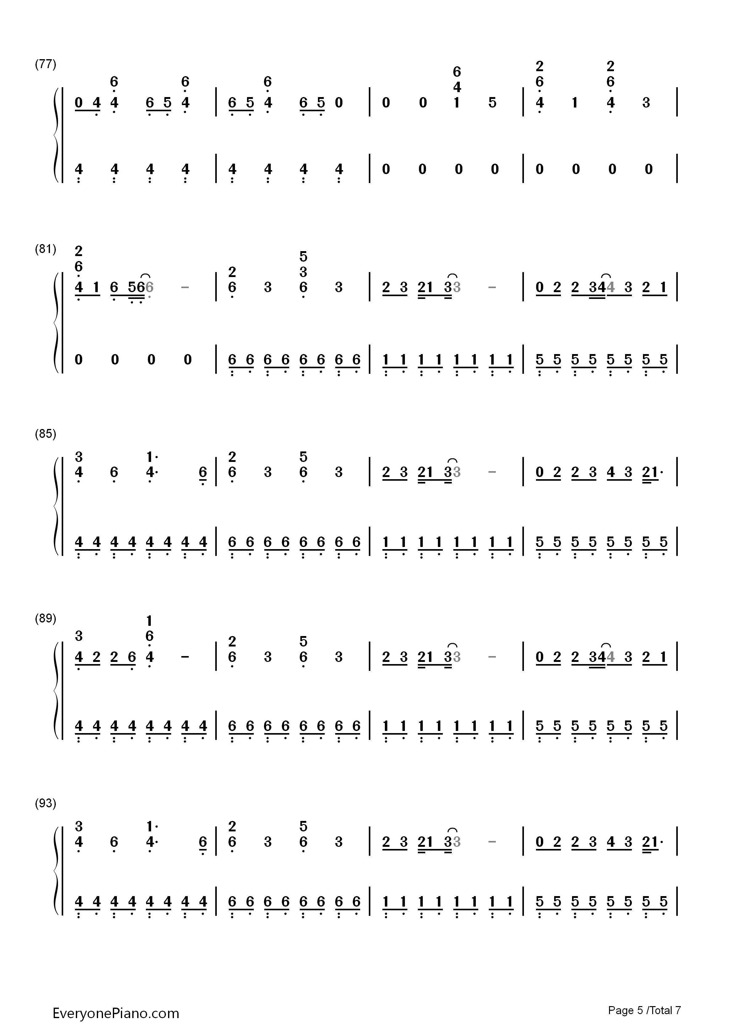 Counting stars onerepublic numbered musical notation preview 5 listen now print sheet counting stars onerepublic numbered musical notation preview 5 hexwebz Images