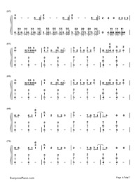 Counting Stars-OneRepublic-Numbered-Musical-Notation-Preview-4