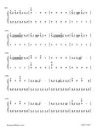 Counting Stars-OneRepublic-Numbered-Musical-Notation-Preview-6