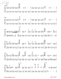 Passing By-Yiruma-Numbered-Musical-Notation-Preview-3