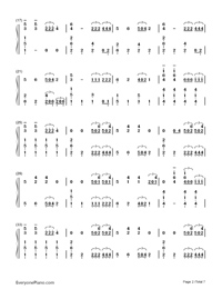 Sail-Awolnation-Numbered-Musical-Notation-Preview-2