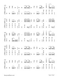 Sail-Awolnation-Numbered-Musical-Notation-Preview-3