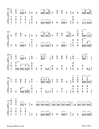 Sail-Awolnation-Numbered-Musical-Notation-Preview-4