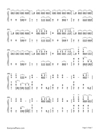 Sail-Awolnation-Numbered-Musical-Notation-Preview-5
