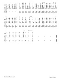 Demons-Imagine Dragons-Numbered-Musical-Notation-Preview-4