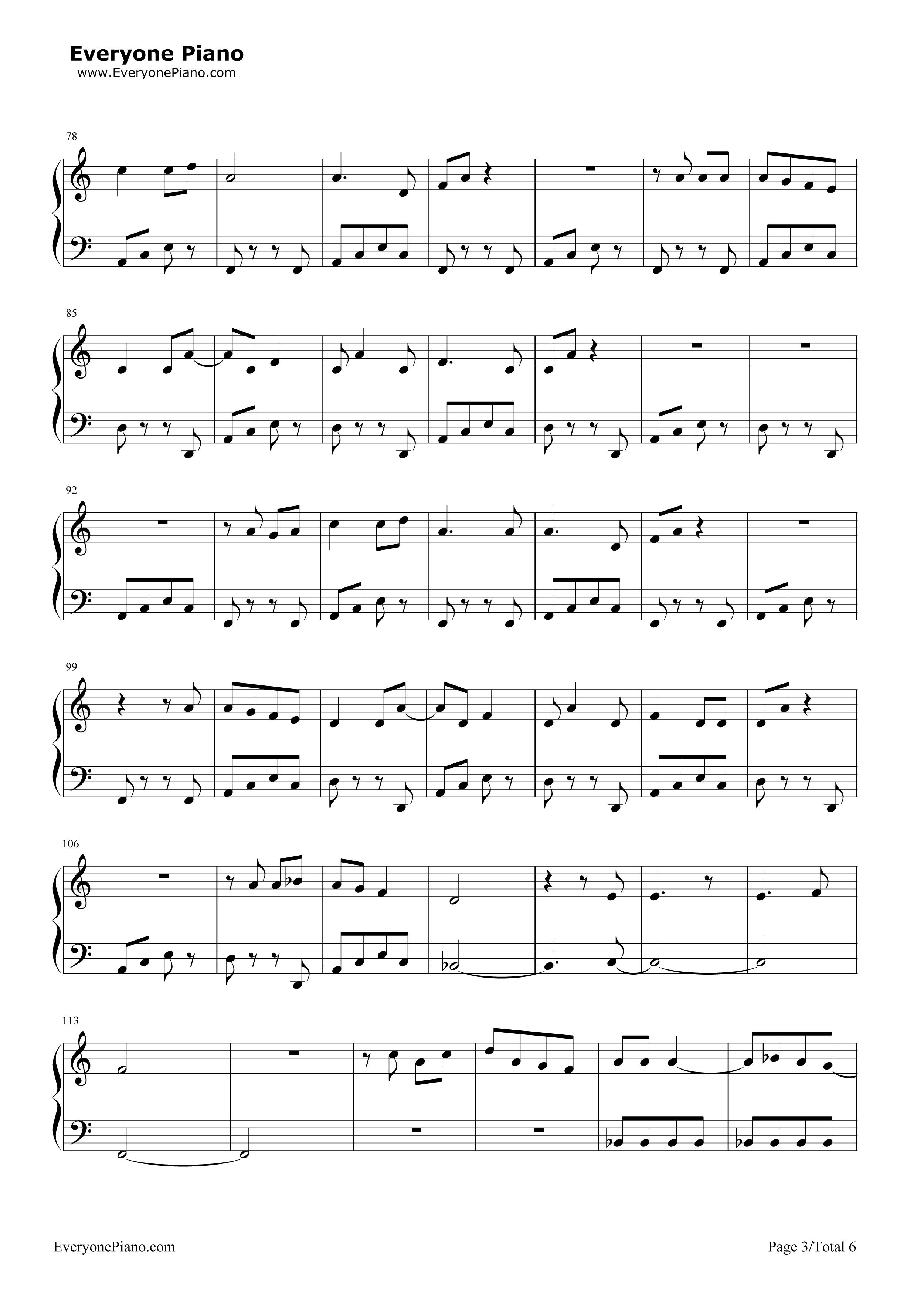 Into You Sheet Music Erkalnathandedecker