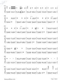 Senbonzakura Variation-Hatsune Miku-Numbered-Musical-Notation-Preview-2