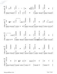 Senbonzakura Variation-Hatsune Miku-Numbered-Musical-Notation-Preview-3