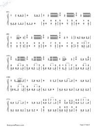 Senbonzakura Variation-Hatsune Miku-Numbered-Musical-Notation-Preview-4