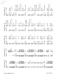 Senbonzakura Variation-Hatsune Miku-Numbered-Musical-Notation-Preview-5