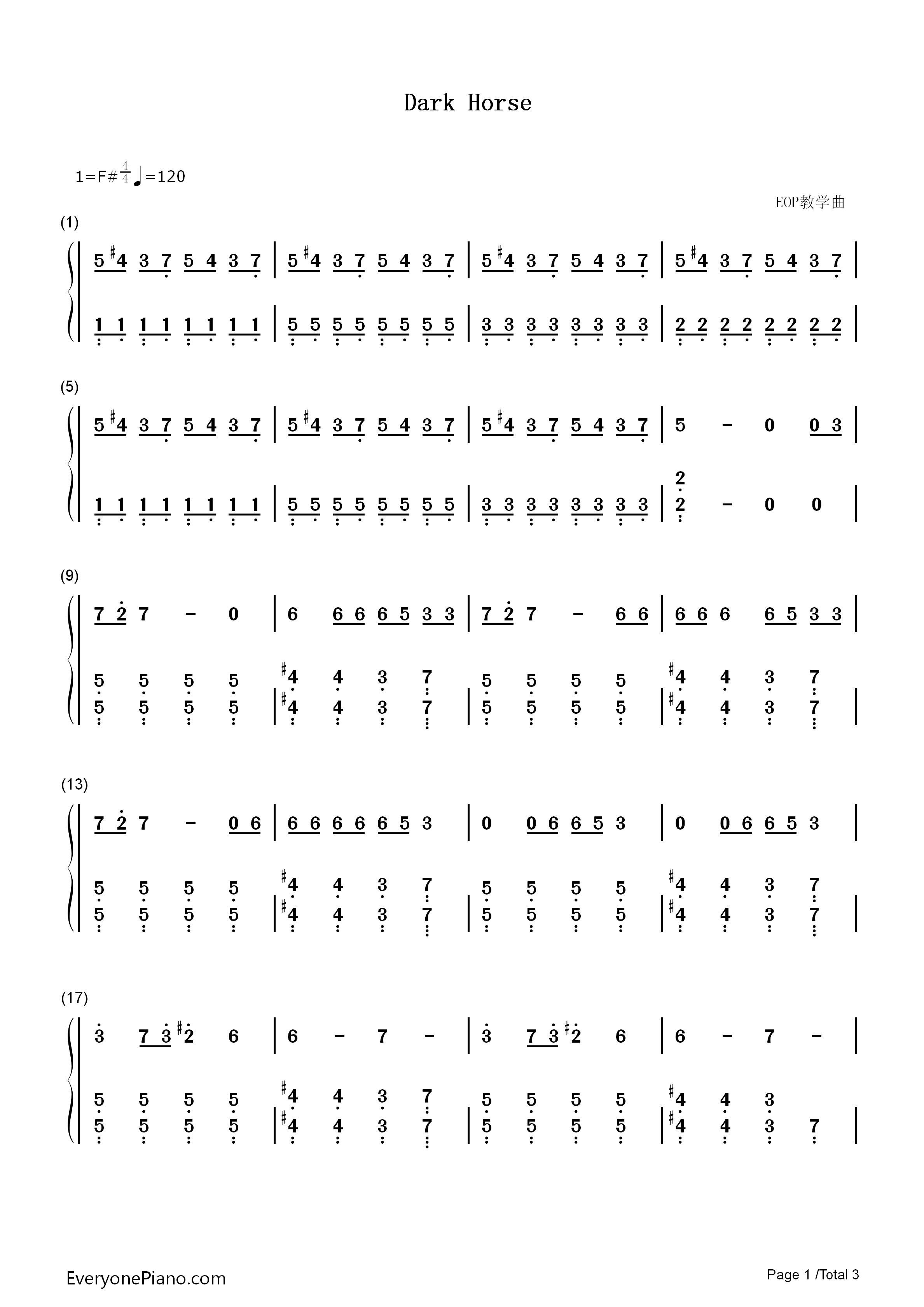 Dark piano chords