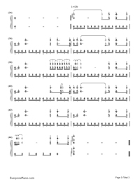 Lettre A Ma Mère-Richard Clayderman-Numbered-Musical-Notation-Preview-3