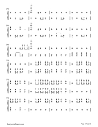 Crooked Smile-J. Cole-Numbered-Musical-Notation-Preview-2
