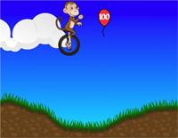 Monkeys Jump and Wheel Jump-Circus Charlie BGM