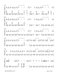 朧月-流星P-初音ミク両手略譜プレビュー2