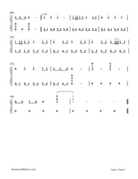 Hazy Moon-Hatsune Miku-Numbered-Musical-Notation-Preview-4
