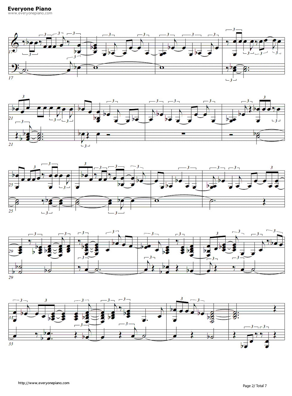 story of my life piano sheet music pdf