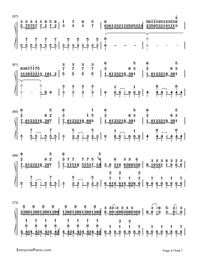 Two-Faced Lovers-Hatsune Miku-Numbered-Musical-Notation-Preview-4