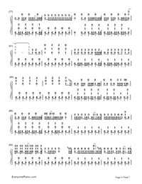 Two-Faced Lovers-Hatsune Miku-Numbered-Musical-Notation-Preview-5