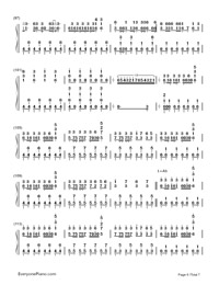 Two-Faced Lovers-Hatsune Miku-Numbered-Musical-Notation-Preview-6