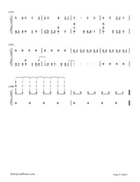 Ai Kotoba Ⅱ-Love Words Ⅱ-Numbered-Musical-Notation-Preview-8