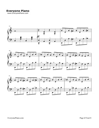 Discombobulate-Sherlock Holmes Theme Stave Preview 6